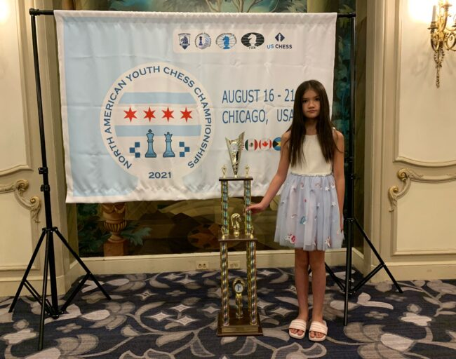Laido Olivia, 1st. place, North American Youth Championships, Chicago 2021