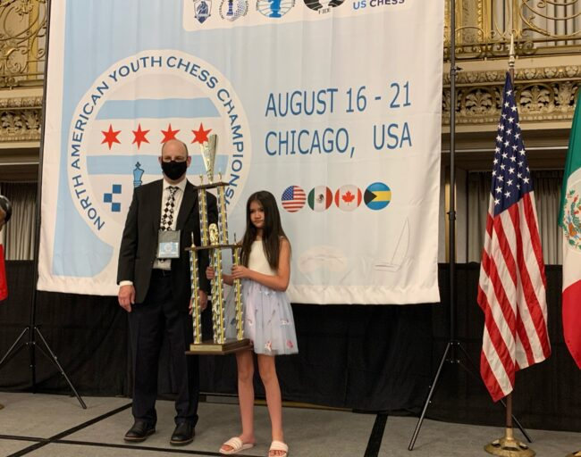 Laido Olivia, 1st. place, North American Youth Championships, Chicago 2021.Laido Olivia, 1st. place, North American Youth Championships, Chicago 2021.